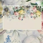 บริการพิมพ์ภาพแคนวาส ภาพวอลเปเปอร์ลายดอกไม้พาสเทล